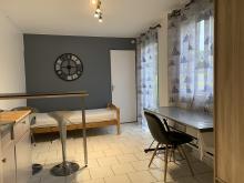 Residence-10 rue de l atre de Gertrude-Proche jardin de la Rhonelle, ideal étudiant de l'université du Mont Houy
