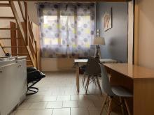 Location meublee Valenciennes-Agence immobiliere valenciennes-Duplex proche gare SNCF et centre ville