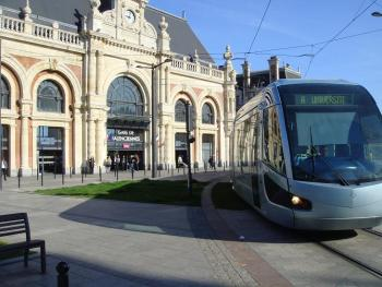 Gare SNCF et Tramway